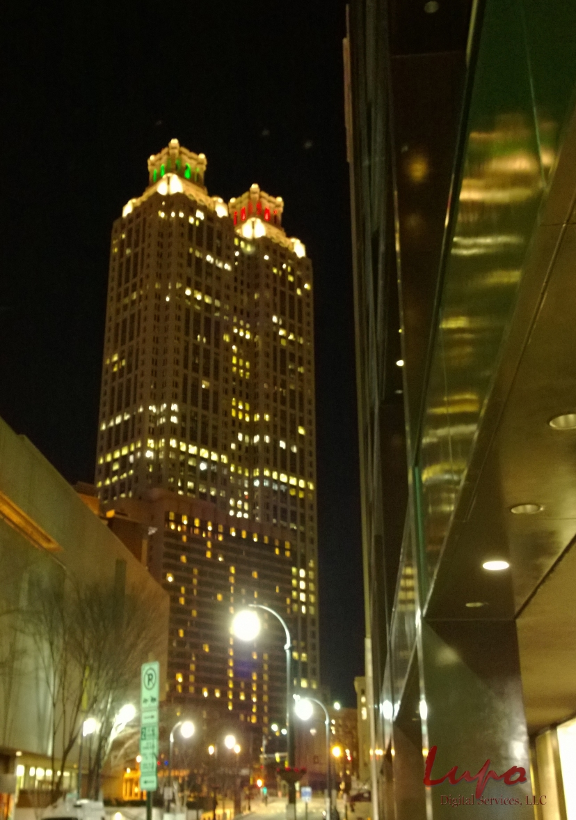 191 Building, Downtown Atlanta, 12 December 2013