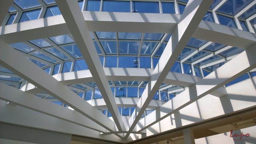 Atrium at the High Museum, Atlanta, GA, 28 August 2014