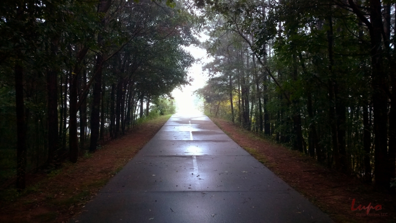 PATH out of Stone Mountain, 31 August 2014