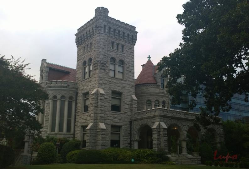 Rhodes Castle, Peachtree Street, Atlanta, GA, 26 September 2014,