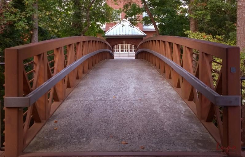 Roswell Cultural Arts Center Bridge, Roswell, GA, 18 September 2