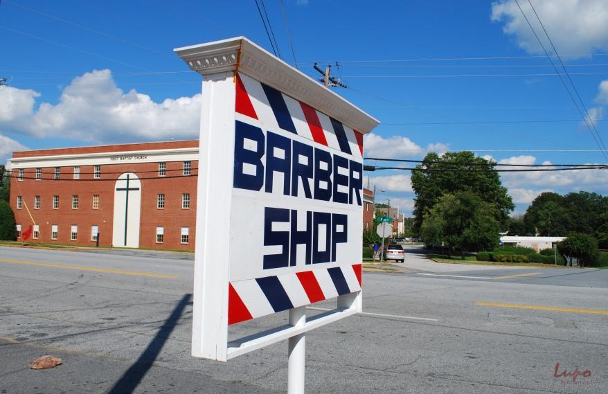 Barber Shop, Tucker, GA, 27 September  2009