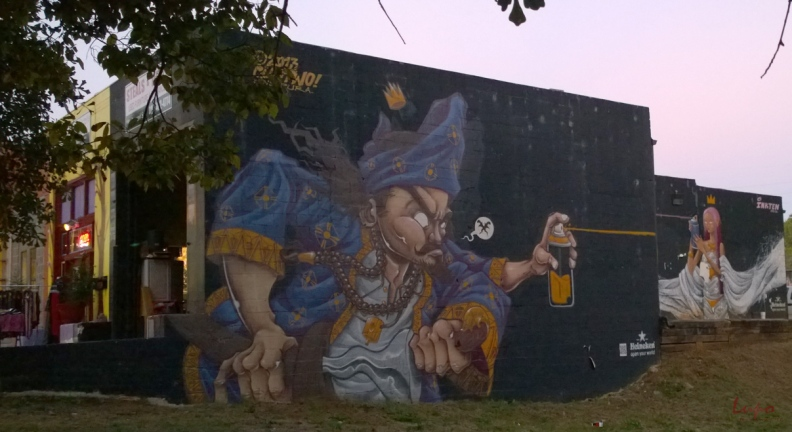 Graffiti Genie, Little Five Points, Atlanta, GA, 16 October 2014