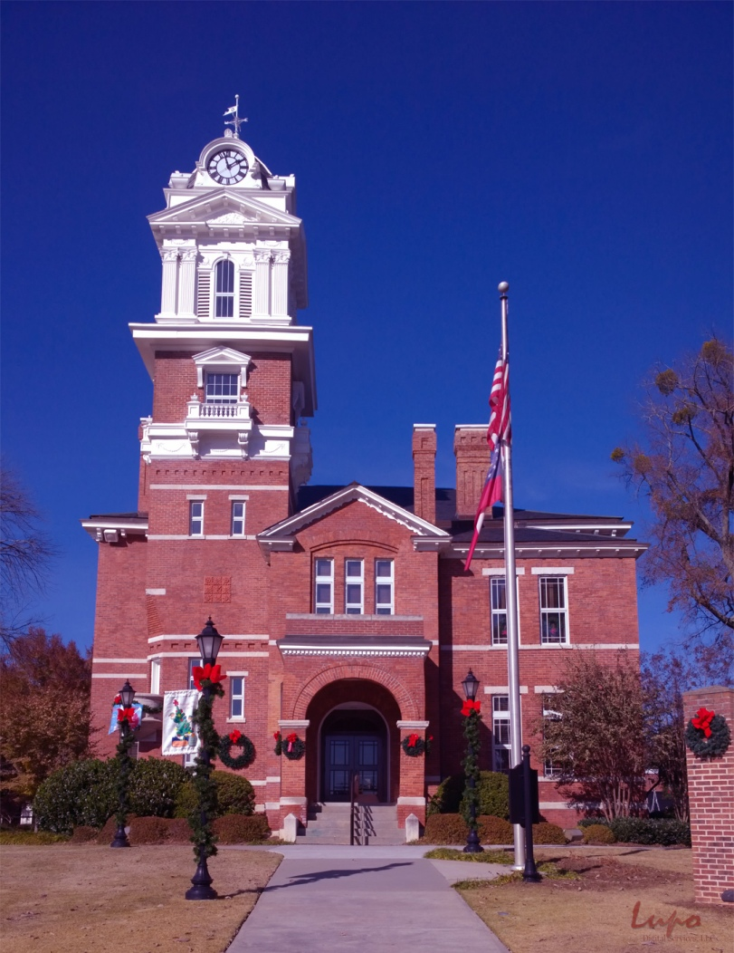 Lawrenceville Historic Courthouse, Lawrenceville, GA, 22 Novembe