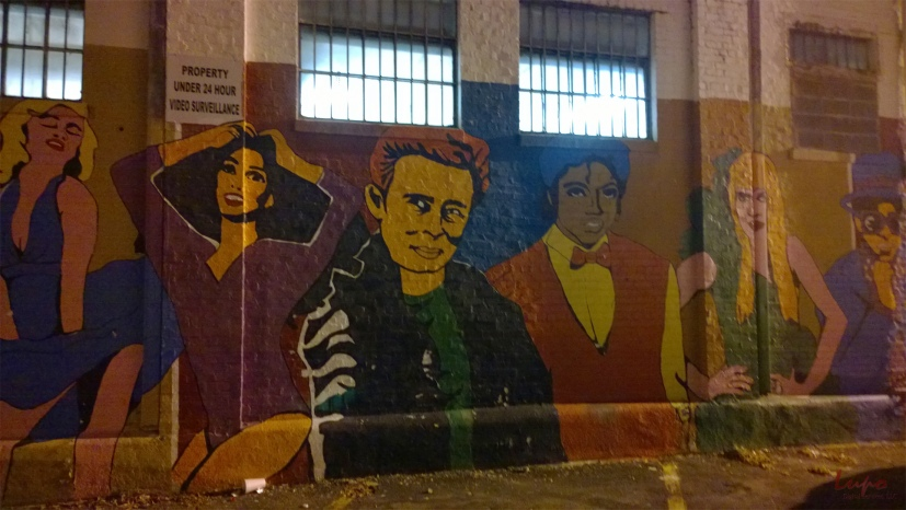 Mural #1, Little Five Points, 28 November 2014