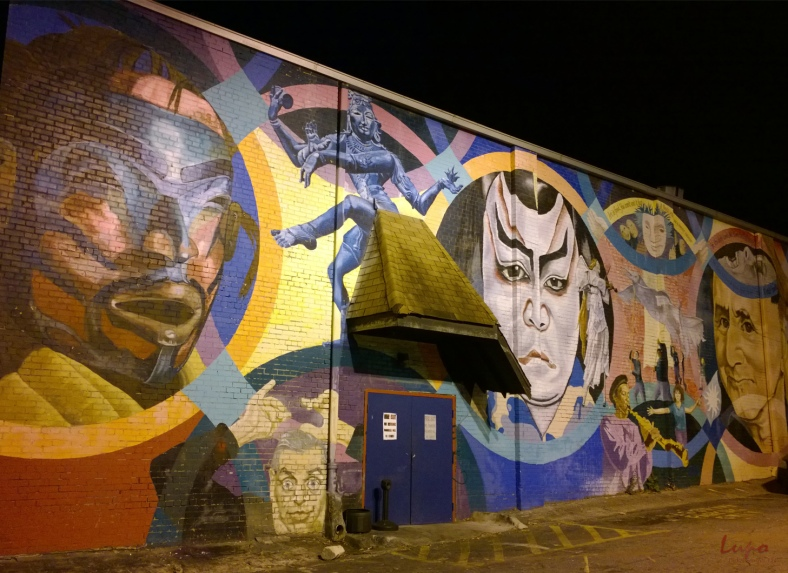 Mural #2, Little Five Points, 28 November 2014