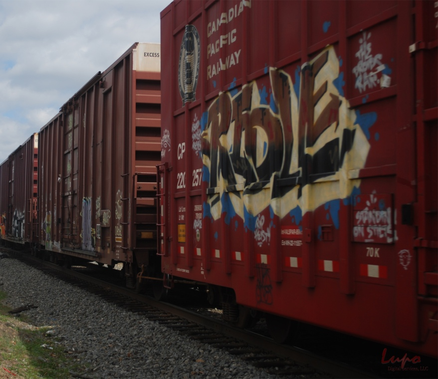 Trains #2, Chamblee, GA, 8 March 2009