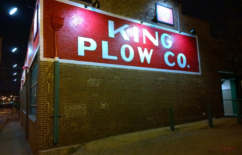 King Plow Arts Center, Atlanta, GA, 29 January 2015