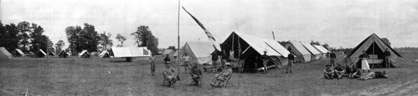 """""""Fort Benjamin Harrison, Lawrence, Indiana (circa 1910)"""" by Charles Bretzman - http://images.indianahistory.org/cdm/singleitem/collection/dc013/id/435/rec/93. Licensed under Public Domain via Commons - https://commons.wikimedia.org"""