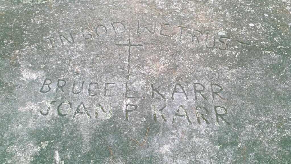 Bruce L Karr & Jean P Karr Stone Mountain