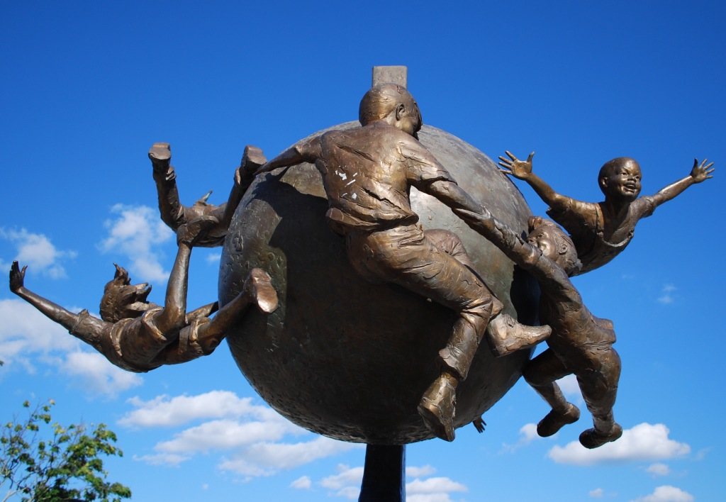Celebration sculpture by Gary Lee Price