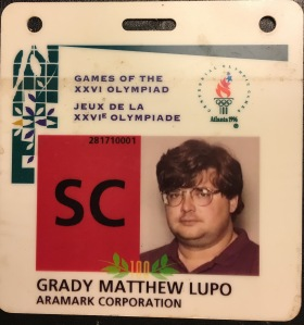 GML Olympic concession badge