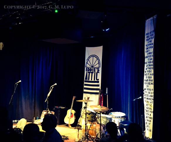 Eddie's Attic stage
